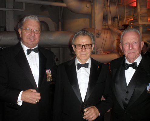 Ed Schloeman with Harvey Keitel and Jerry Yellin